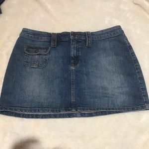 Limited Denim Mini Skirt Size 12